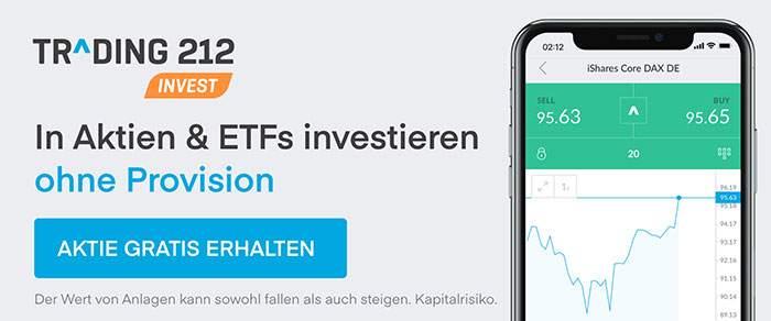 Trading 212 Gratis Aktie erhalten