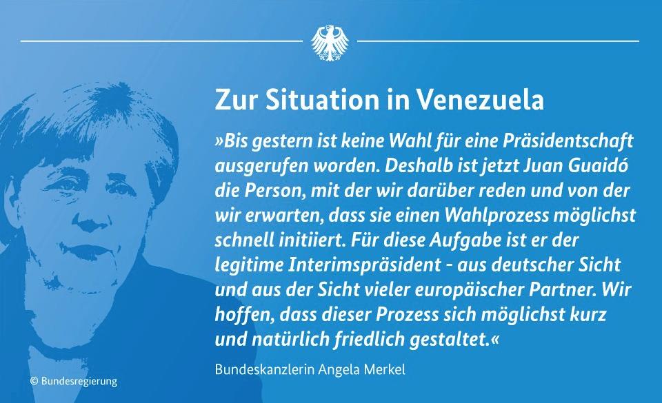 Venezuela Merkel