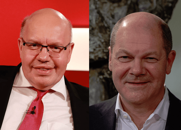 Peter Altmaier und Olaf Scholz