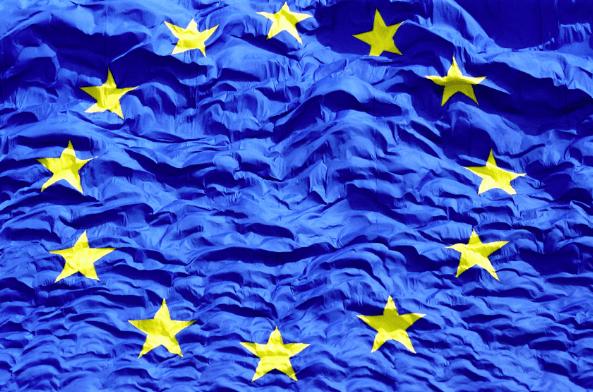 EU-Kommission - EU-Flagge