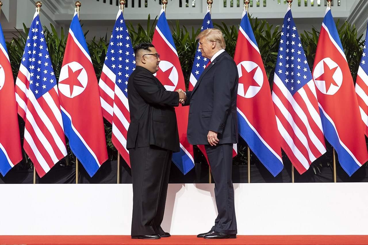 Donald Trump und Kim Jong Un letztes Jahr