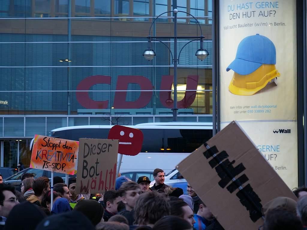 Demo gegen Artikel 13 am 5. März in Berlin