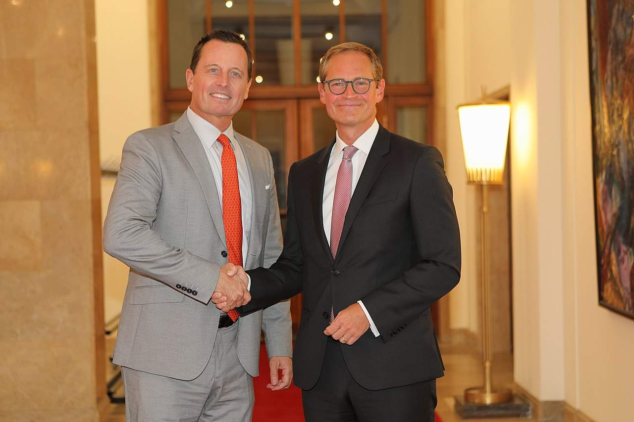 Grenell USA Huawei