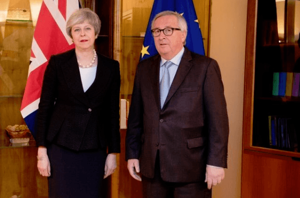 Juncker May Brexit