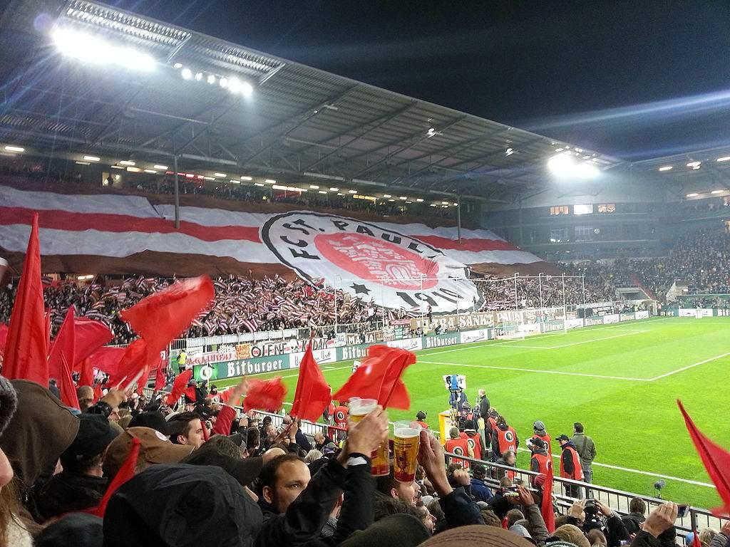 Derby St. Pauli HSV - Beispielbild von einem ST. Pauli-Spiel