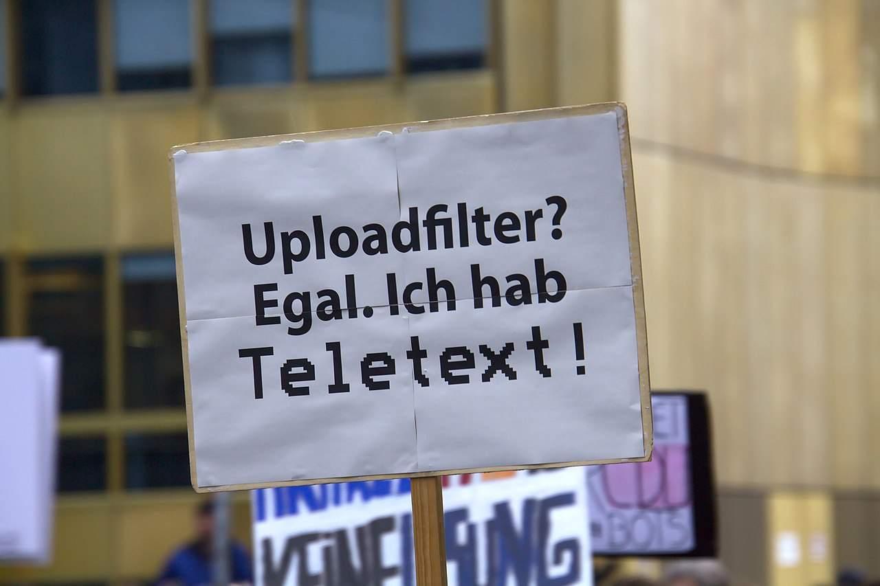 Demo gegen Artikel 13 am 2. März in Berlin