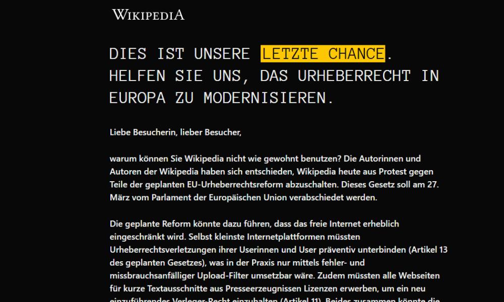 Warum-Wikipedia-heute-offline-ist