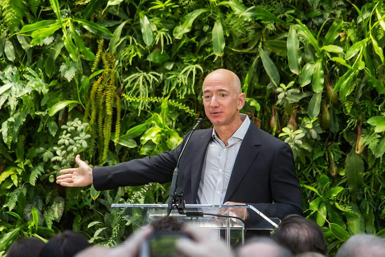 Jeff Bezos - Amazon-Quartalszahlen