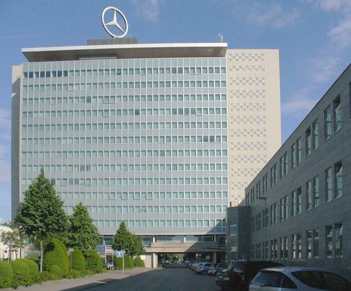 Daimler-Zentrale - Daimler-Quartalszahlen