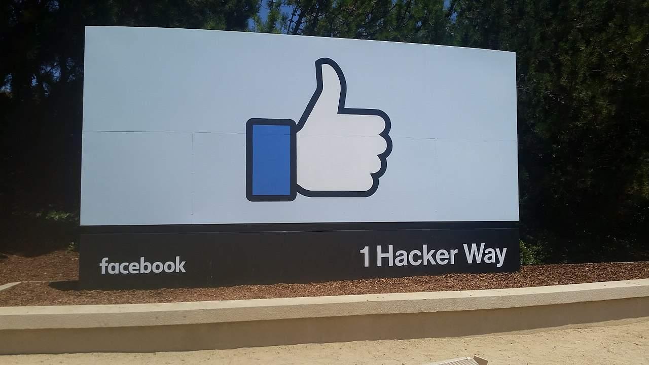 Facebook Firmengelände