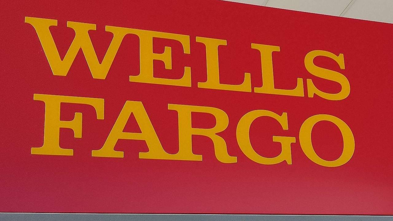 Wells Fargo Schriftzug