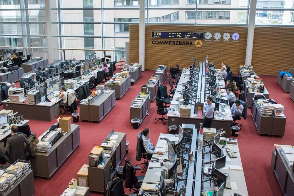Commerzbank in Frankfurt - Commerzbank-Quartalszahlen