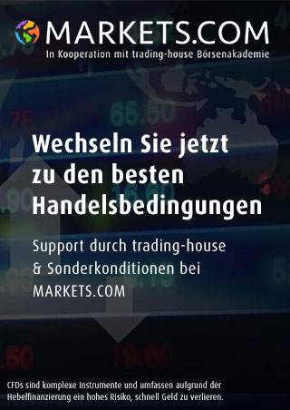 Markets.com Sonderkonditionen & Support von Trading-House.net