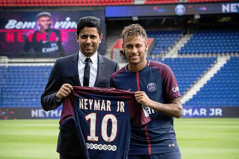 Neymar in Paris