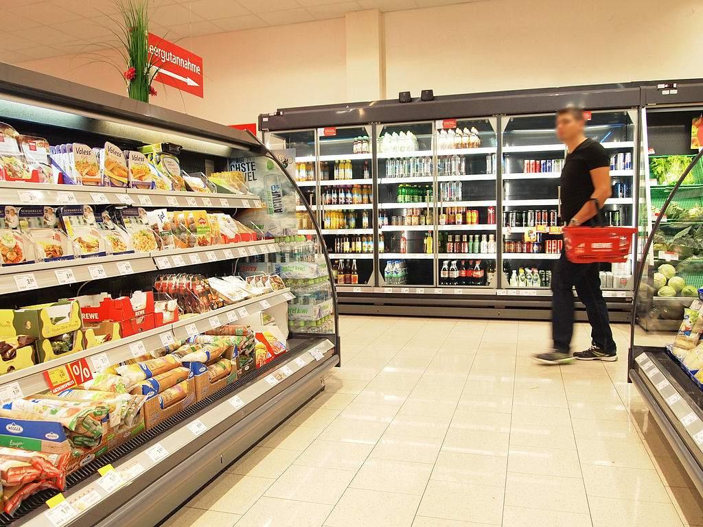 Supermarkt - Eurozonen-Verbraucherpreise