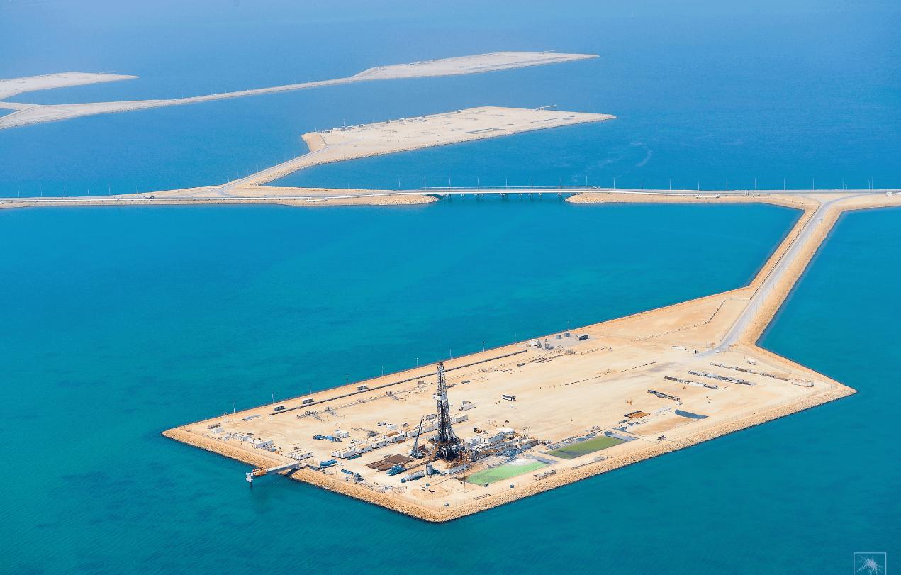 Ölpreis steigt aktuell nicht weiter - Ölfeld in Saudi-Arabien
