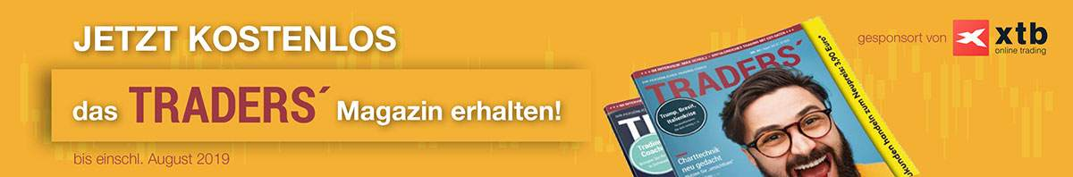 Kostenlos das TRADERS´ Magazine erhalten