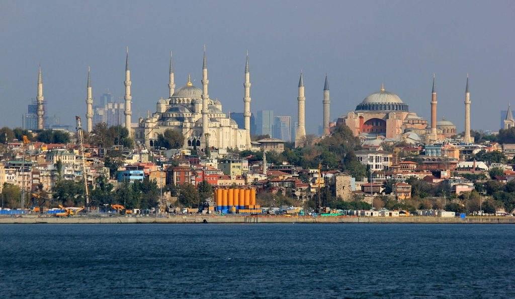 Hagia Sophia in der Türkei - Zentralbank und Türkische Lira im Fokus