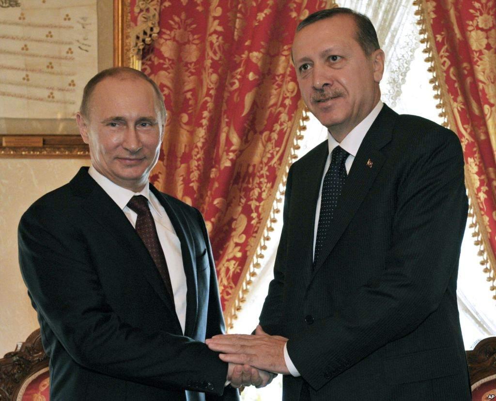 Türkische Lira vor Problemen - Erdogan und Putin im Jahr 2012