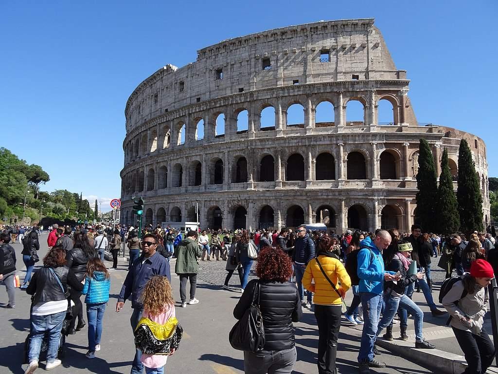 Italien - Colosseum in Rom