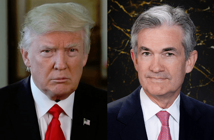 Donald Trump mit Vorwurf gegen Fed und Jerome Powell