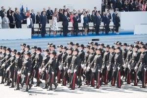 Trump hat den 4.Juli als Militärshow inszeniert
