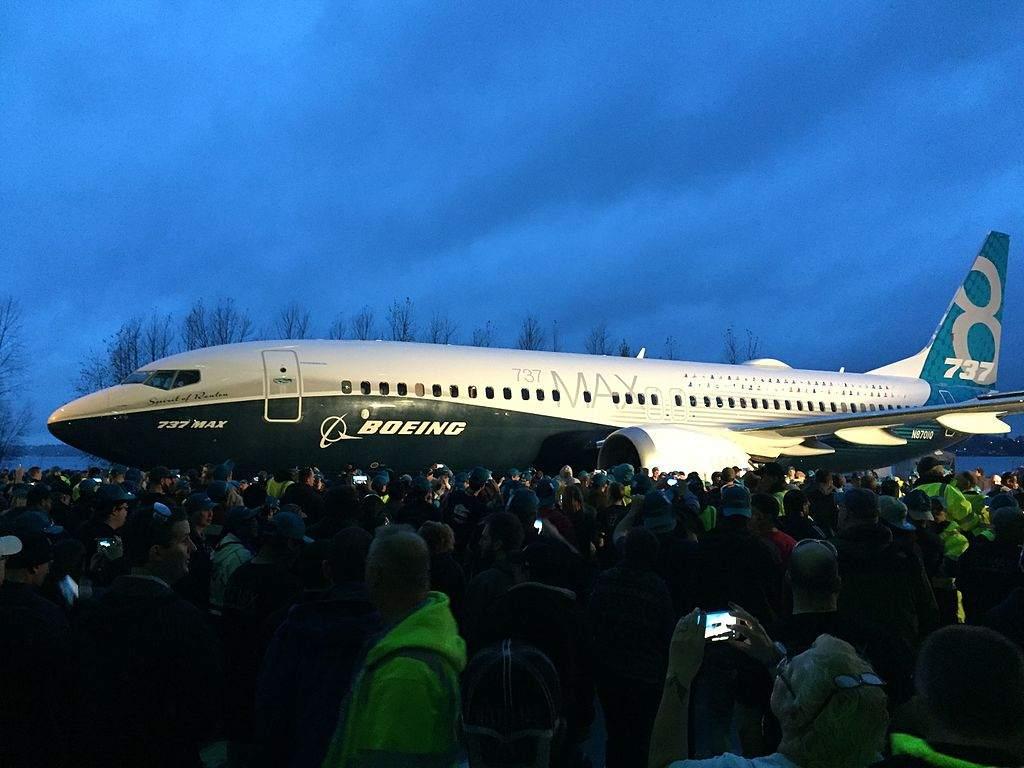 Boeing 737-Präsentation - heute Boeing-Quartalszahlen
