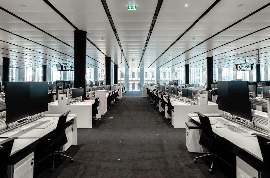 Deutsche Bank Handelsraum