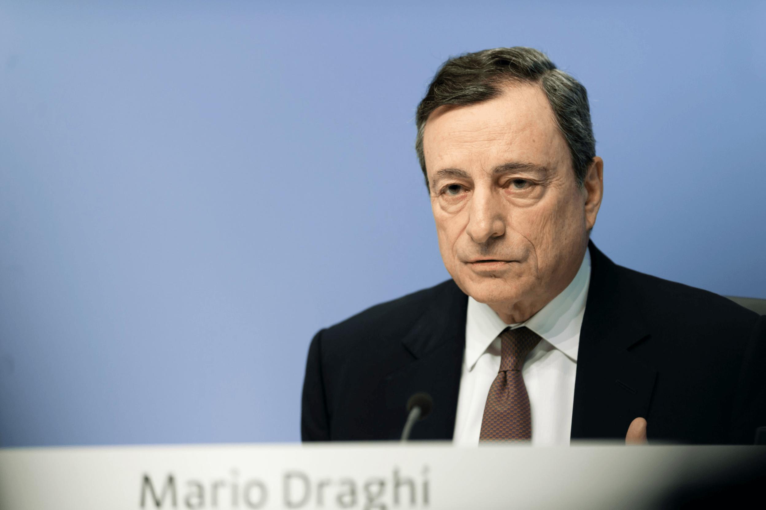 Dank Mario Draghi wohl bald Strafzinsen für aller Sparkunden