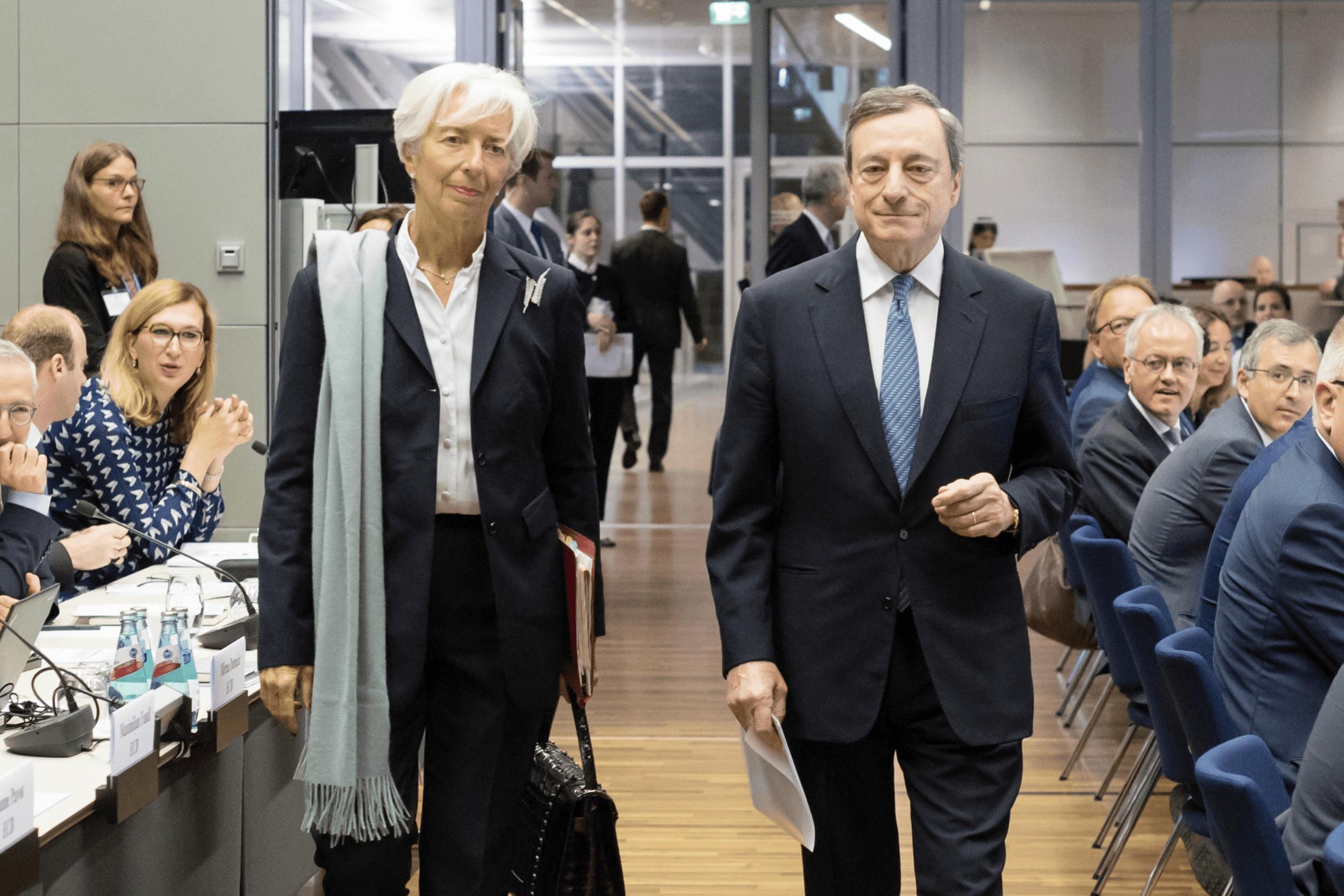Draghi und Lagarde
