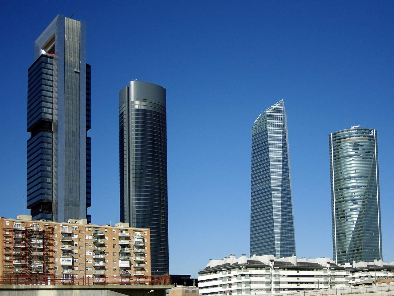 Bankenunion - Türme in Madrid