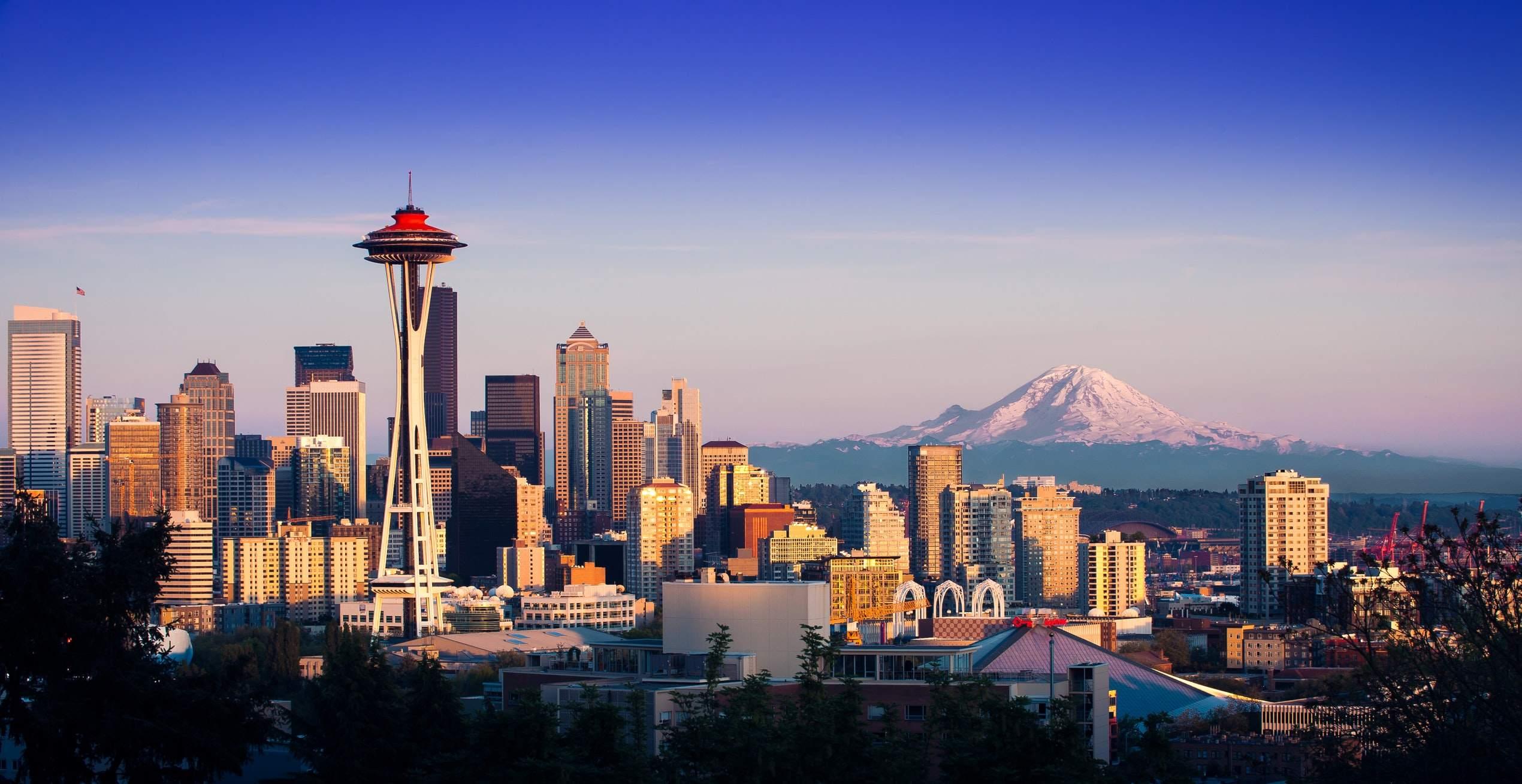 Seattle, Heimat von Amazon - diverse Aktien-News und Q-Zahlen
