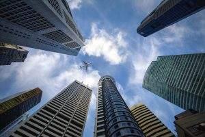 Der Bankenindex in Europa zeigt, dass die Türme nicht mehr in den Himmel wachsen..
