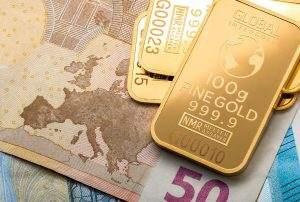 Der Euro verliert zum Gold immer mehr an Wert