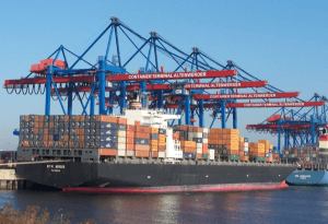 Beim Hamburger Hafen geht es wieder aufwärts
