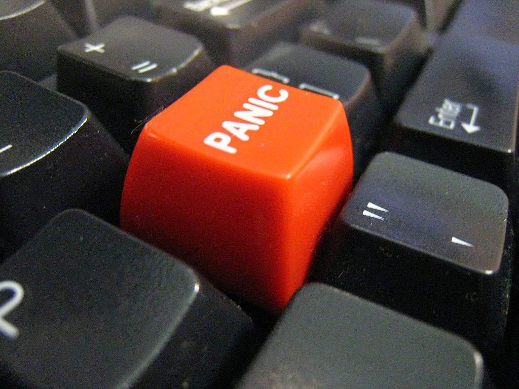 Die Notenbanken scheinen den Panik-Button gedrück zu haben