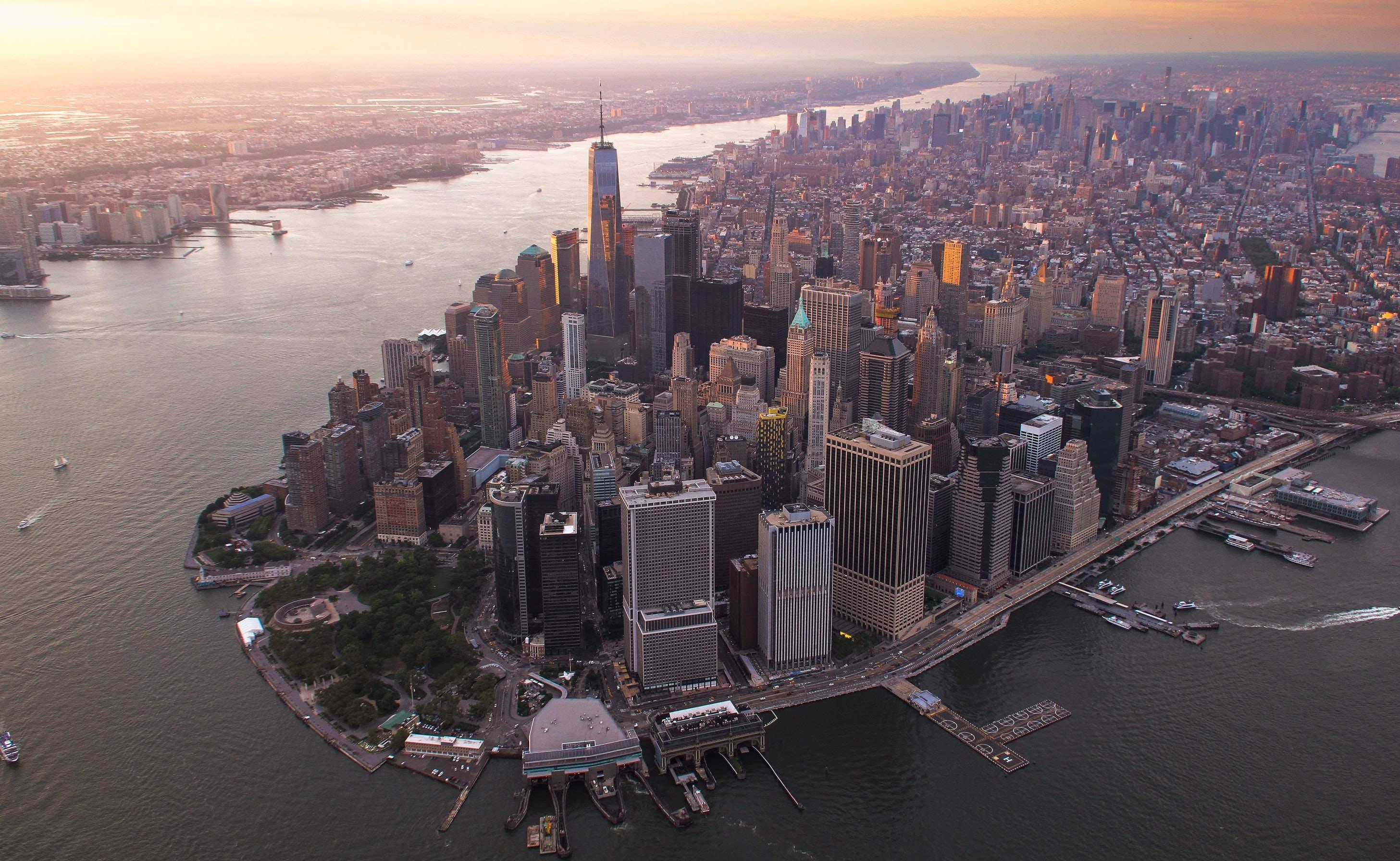 Downtown Manhattan - Insiderverkäufe Anzeichen für Crash?