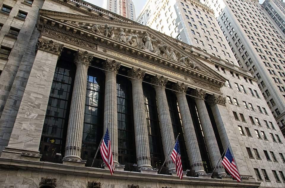 Das Gebäude der New York Stock Exchange