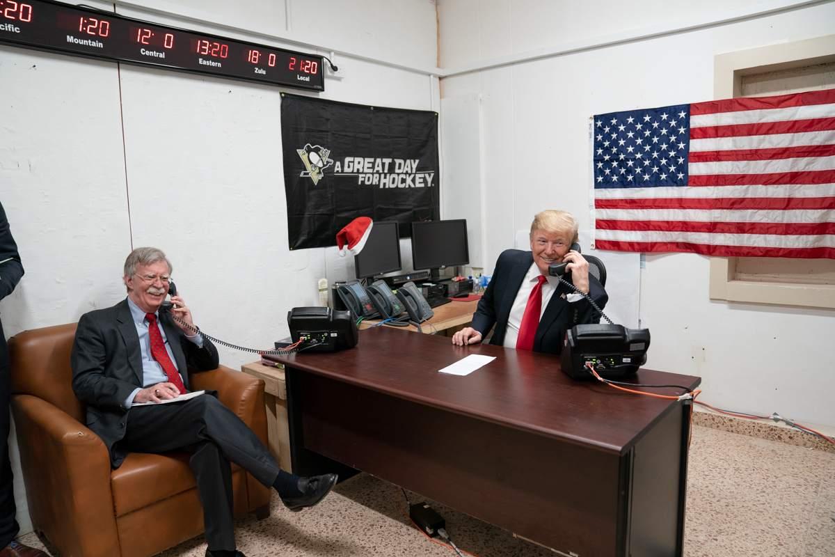 John Bolton und Donald Trump