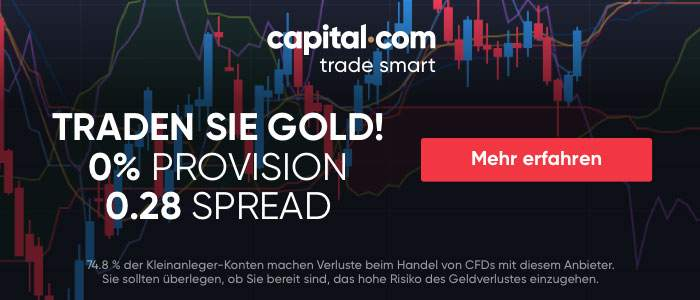 capital.com Trade Sie Gold