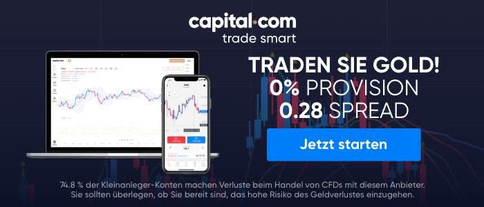 capital.com Trade Sie Gold