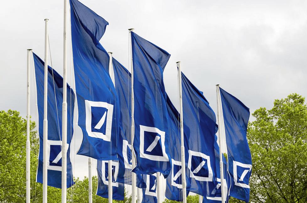 Deutsche Bank Fahnen