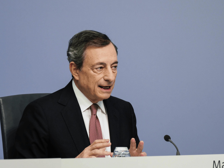 Noch EZB-Chef Mario Draghi
