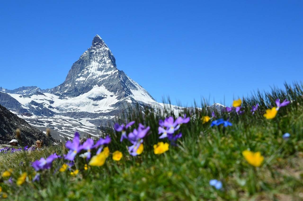 Schweizer Bergpanorama - Schweizer Franken wertet auf