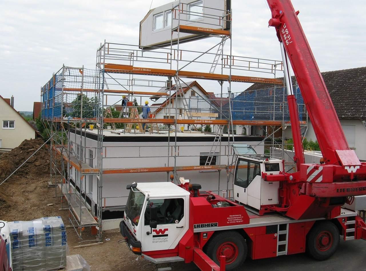 Immobilien Hausbau Beispielfoto