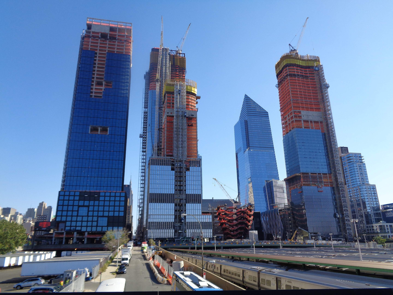 Hudson Yards in New York - die Deutsche Bank ist mit an Bord