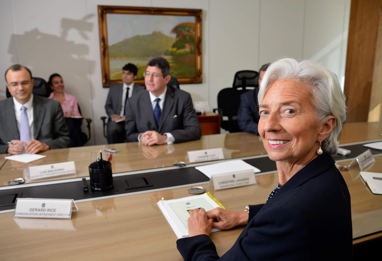 Christine Lagarde im Jahr 2015