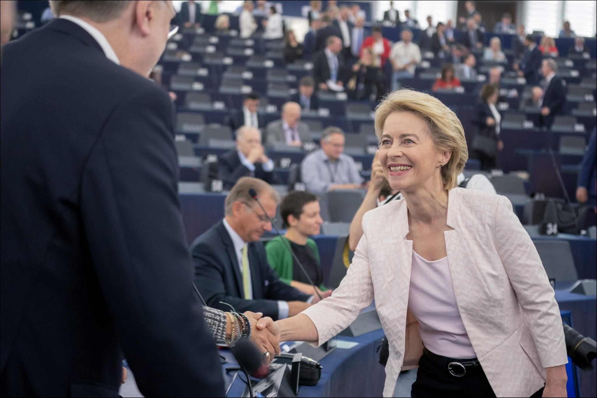 Ursula von der Leyen EU-Kommission