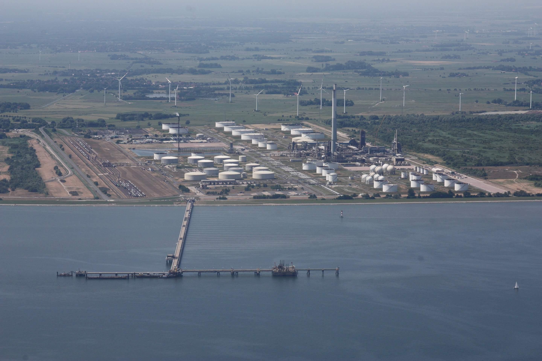 Öl-Verknappung in Deutschland? Terminal in Wilhelmshaven