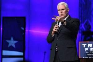 China kritisierte die Aussagen con Mike Pence scharf